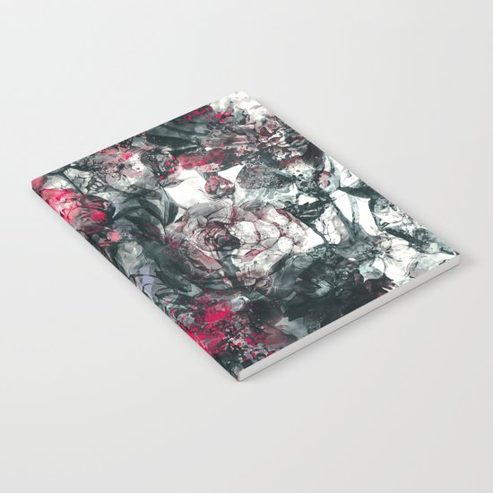 ABSTRACT FLORAL RPE Notebook