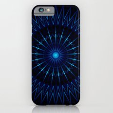 Blue Light Mandala iPhone 6s Slim Case