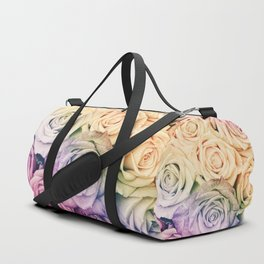 Some people grumble - Colorful Roses - Rose pattern Duffle Bag