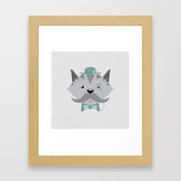 Mr. Pipsey Framed Art Print