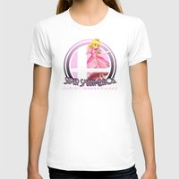 smash bros T-shirts featuring Peach - Super Smash Bros. by Donkey Inferno