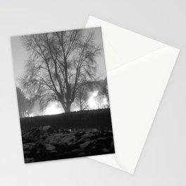 Foggy Night Stationery Cards