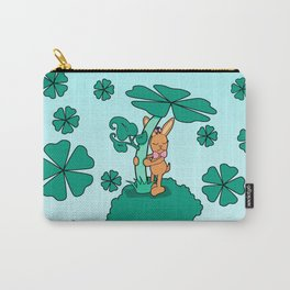 Lucky Bunny Carry-All Pouch