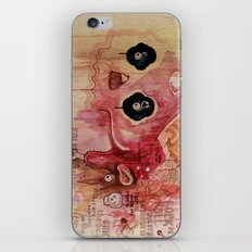 Outerspace Rock`n´Roll Unicorn iPhone & iPod Skin