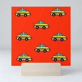 NYC Taxi Cabs Mini Art Print