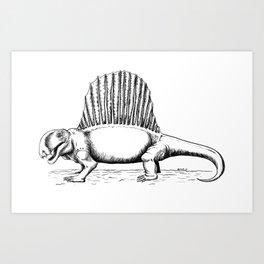 Dimetrodon Art Print
