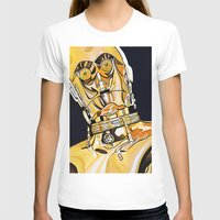 c3po T-shirts featuring C3PO by Laura-A