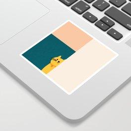 Little_Cat_Cute_Minimalism Sticker