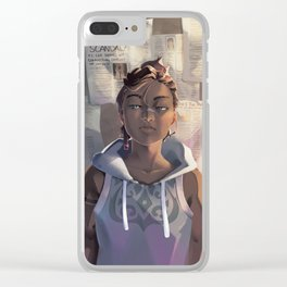 Korra Clear iPhone Case
