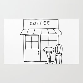 Little Coffee House // Cafe Sketch Rug