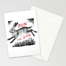 Run Like The Wind Stationery Cards
