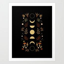 Autumnal Night Art Print