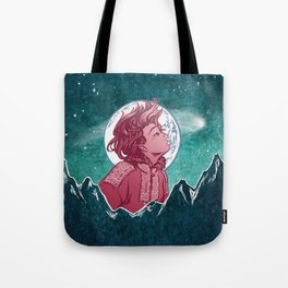 The Astronomer Who Met The North Wind Tote Bag