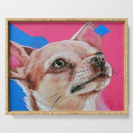 Chihuahua Serving Tray