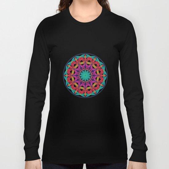 Flower of Life variation 2 Long Sleeve T-shirt