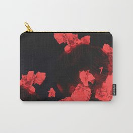 Japanese Night Flowers Carry-All Pouch