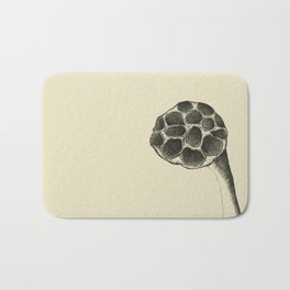 i looked up and you were gone - lotus flower (wasatch, utah) Bath Mat