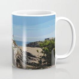 Wales Tenby Beach  Coffee Mug