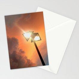 San Francisco Sky at Dusk Stationery Cards