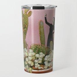 The Wonders of Cactus Island Travel Mug