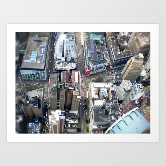 New York in 20 pics - Pic 18. Art Print