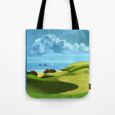 A Hot Day's Boating Tote Bag