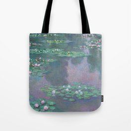 Water Lilies Monet 1905 Tote Bag
