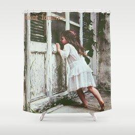 violent femmes liitle girl muncrat Shower Curtain