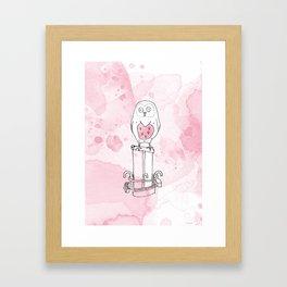 La belle chouette Framed Art Print