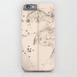 Johann Bayer - Uranometria / Measuring the Heavens (1661) - 34 Eridanus / The River iPhone Case