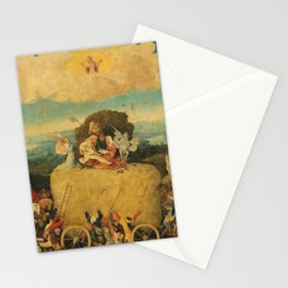 The Haywain Triptych - Hieronymus Bosch Stationery Cards
