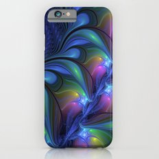 Colorful, Abstract Fractal Art iPhone 6 Slim Case