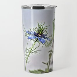 Blue Nigella Travel Mug