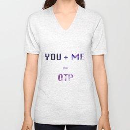You + Me = OTP Unisex V-Neck