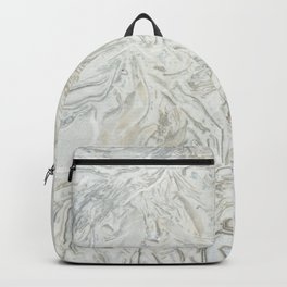 Grey marble surface pattern Backpack