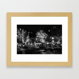 nightlights Framed Art Print