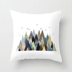 Mountain Dreaming Throw Pillow