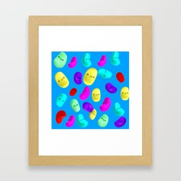 Jelly Bean`s Framed Art Print