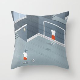 I was an only son Throw Pillow