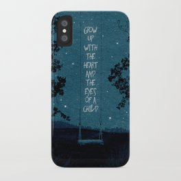 Heart of a Child iPhone Case