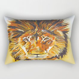 Relentless Pursuit Rectangular Pillow