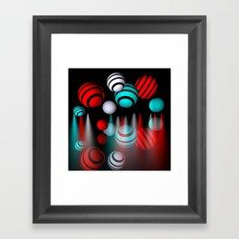 lightballs -3- Framed Art Print