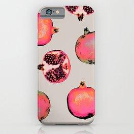 Pomegranate Pattern iPhone Case