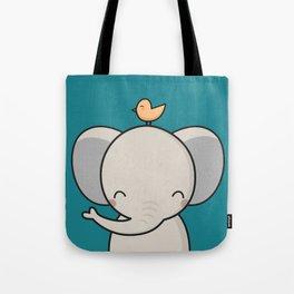Kawaii Cute Elephant Tote Bag