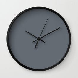 Pebble Gray Wall Clock