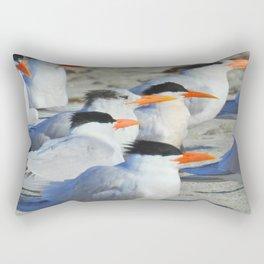 Elegant Terns Rectangular Pillow