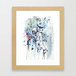 Heretic Astronut Framed Art Print