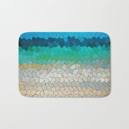 SEA MOSAIC Bath Mat