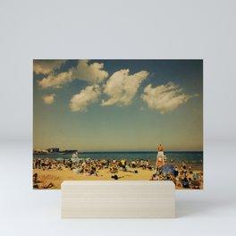 Evanston Beach #2 Mini Art Print