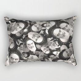 Horned Ayatollah Monsters Rectangular Pillow